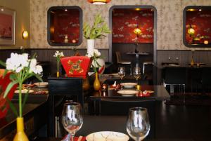 de zaal van restaurant Jasmijn & ik